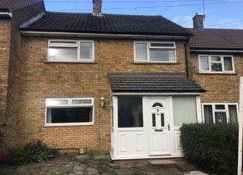 Thumbnail Terraced house for sale in Pankhurst Crescent, Chells, Stevenage