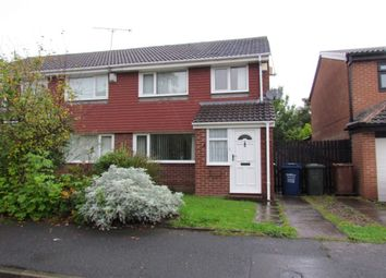 Thumbnail 3 bedroom semi-detached house to rent in Yeadon Court, Newcastle Upon Tyne