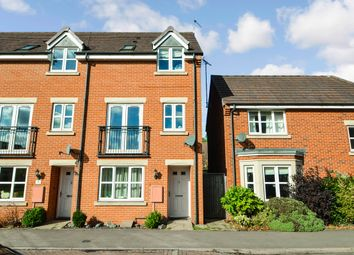 Thumbnail 4 bed town house for sale in Hopps Lodge Drive, Rugby