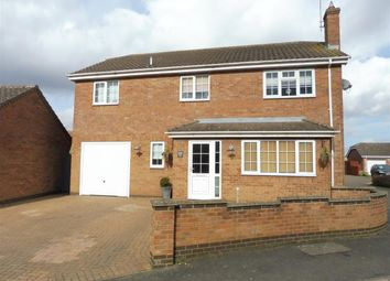 Thumbnail 4 bedroom detached house for sale in Hemmerley Drive, Whittlesey, Peterborough