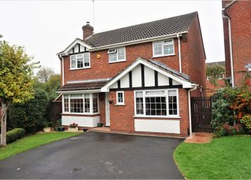 Thumbnail 4 bed detached house for sale in Baird Close, Swindon