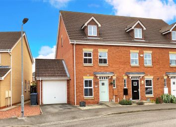 Thumbnail 3 bed end terrace house for sale in Rivelin Park, Kingswood, Hull