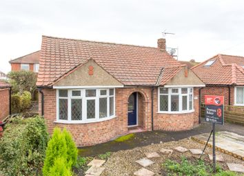 Thumbnail 2 bed detached bungalow for sale in Bedale Avenue, York