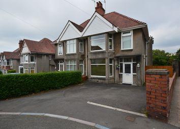 Thumbnail 3 bed semi-detached house for sale in Llwyn Arosfa, Sketty, Swansea