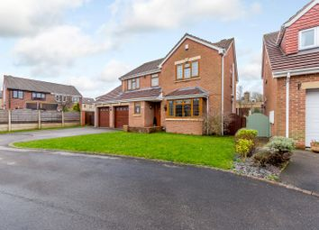 Thumbnail 4 bed detached house for sale in Laburnum Court, Barugh Green, Barnsley