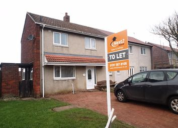 Thumbnail 2 bed semi-detached house to rent in Yoden Road, Peterlee