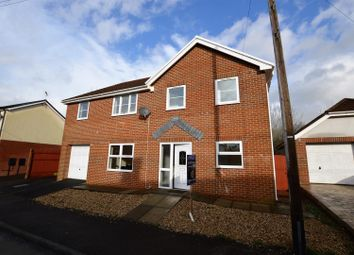 Thumbnail 4 bed detached house for sale in Duffryn Crescent, Llanharan, Pontyclun