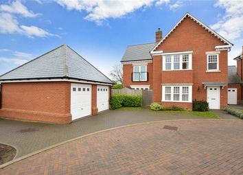 Thumbnail 4 bed detached house for sale in Eversley Park, Folkestone, Kent
