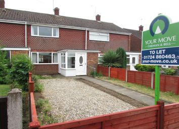 Thumbnail 2 bed property to rent in Byfield Road, Scunthorpe