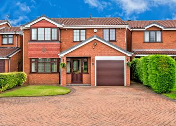 Thumbnail 5 bed detached house for sale in Rowan Drive, Essington, Wolverhampton