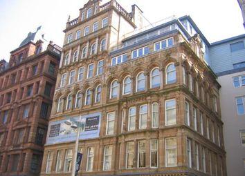 Thumbnail 1 bed flat to rent in 3.8, 10 Buchanan Street, Glasgow