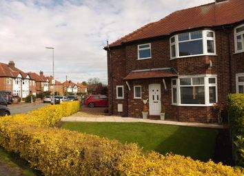 Thumbnail 4 bed semi-detached house for sale in Glebe Avenue, Grappenhall, Warrington