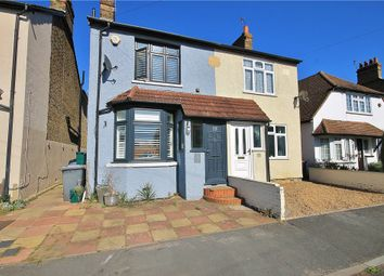 Thumbnail 4 bed semi-detached house for sale in Park Avenue, Egham, Surrey