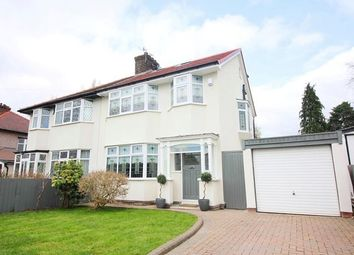 Thumbnail 4 bed semi-detached house to rent in Menlove Avenue, Woolton, Liverpool