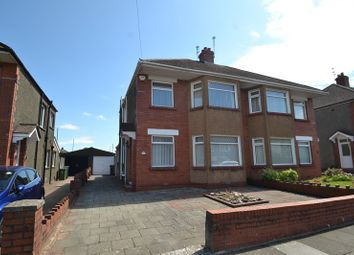 Thumbnail 3 bed semi-detached house for sale in St. Brioc Road, Heath, Cardiff