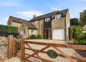 Thumbnail 4 bed link-detached house for sale in Lower End, Leafield, Witney