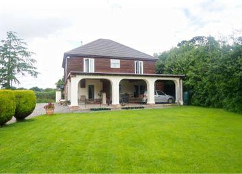 Thumbnail 5 bed detached house for sale in Dudleston, Ellesmere