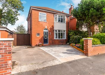 Thumbnail 3 bed detached house for sale in Leigh Avenue, Widnes, Cheshire