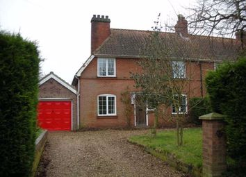 Thumbnail 3 bedroom semi-detached house to rent in Smiths Knoll, Hedenham, Bungay