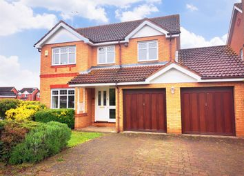 Thumbnail 4 bed detached house for sale in Orchard Way, Thrapston, Kettering