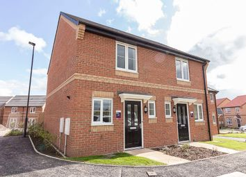 Thumbnail 2 bed semi-detached house to rent in Woodland Avenue, Colburn, Catterick Garrison