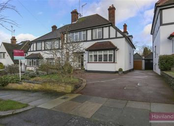 Thumbnail 3 bed semi-detached house for sale in Broadfields Avenue, Winchmore Hill, London