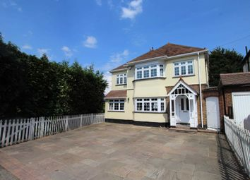 Thumbnail 4 bed detached house for sale in Hacton Lane, Upminster