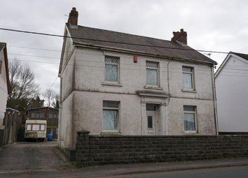 Thumbnail 3 bed detached house for sale in Station Road, Pontyberem, Llanelli