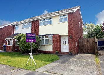 Thumbnail 3 bed semi-detached house for sale in Willowdene, Thornton-Cleveleys
