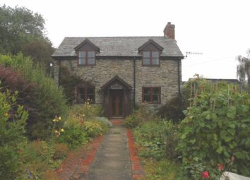 Thumbnail 3 bed detached house for sale in Pontrobert, Meifod, Powys