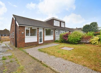Thumbnail 2 bed semi-detached bungalow for sale in Shaftesbury Avenue, Folkestone