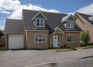 Thumbnail 4 bed detached house for sale in Harvey Way, Rothienorman, Inverurie