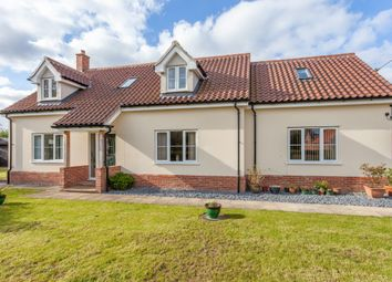 Thumbnail 5 bedroom detached house for sale in Chapel Road, Foxley, Dereham