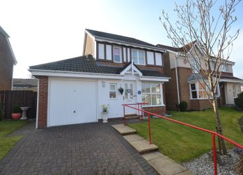 Thumbnail 3 bedroom detached house for sale in Ratho Drive, Cumbernauld