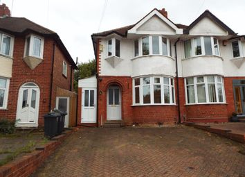 Thumbnail 3 bed semi-detached house to rent in Corisande Road, Selly Oak, Birmingham