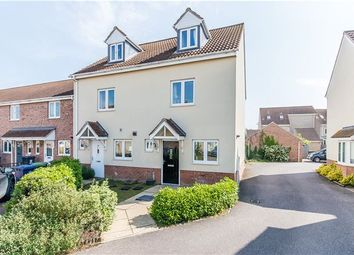 Thumbnail 3 bedroom semi-detached house for sale in Collingwood Drive, Longstanton, Cambridge