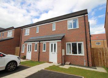 Thumbnail 3 bed semi-detached house for sale in Etal Drive, Amble, Morpeth