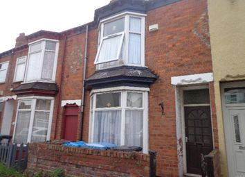 Thumbnail 1 bedroom terraced house to rent in Edgecumbe Street, Hull