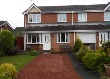 Thumbnail 3 bedroom semi-detached house for sale in Linton Burn Park, Widdrington, Morpeth