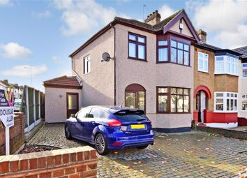 Thumbnail 3 bed semi-detached house for sale in Norman Road, Hornchurch, Essex