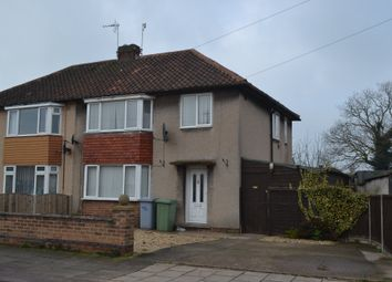 Thumbnail 3 bed semi-detached house to rent in Churchill Drive, Newark