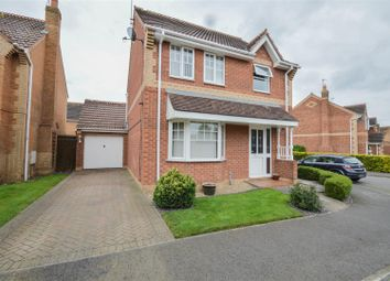 Thumbnail 3 bedroom detached house for sale in Harvester Way, Crowland, Peterborough