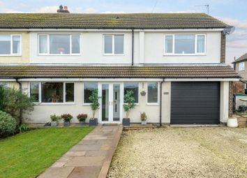 Thumbnail 4 bed semi-detached house to rent in Shield Green Farm, Tritlington, Morpeth