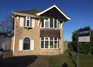 Thumbnail 4 bed detached house to rent in Stillington Road, Huby, York