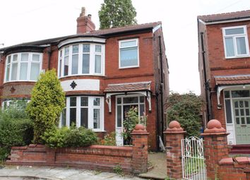 3 bed semi-detached house for sale in Kingsmere Avenue, Manchester M19
