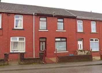 Thumbnail 3 bed terraced house for sale in Abergarw Road, Brynmenyn, Bridgend, Bridgend County.