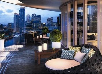 Thumbnail 3 bed flat to rent in Arena Tower, Crossharbour Plaza, Canary Wharf