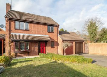 Thumbnail 4 bed detached house for sale in Azalea Gardens, Church Crookham, Fleet