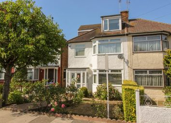 Thumbnail 4 bed semi-detached house for sale in Holyrood Road, New Barnet, Barnet