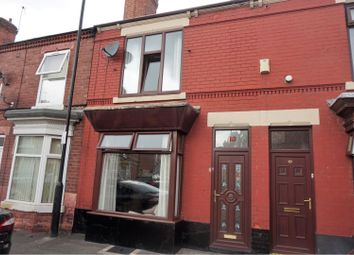 Thumbnail 2 bed terraced house for sale in Lowther Road, Doncaster